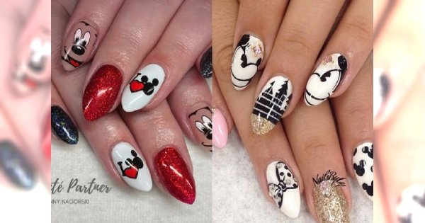 Urocze Propozycje Na Manicure Z Motywem Myszki Miki