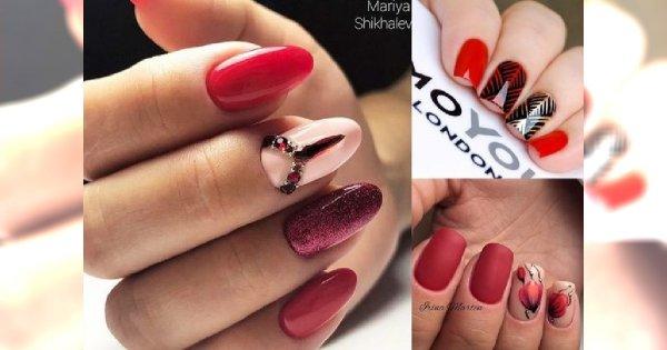 Najlepsze pomysły na czerwony manicure, który nigdy nie wyjdzie z mody - galeria