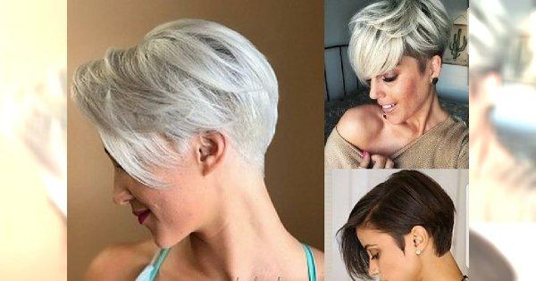 Odmładzające fryzury pixie - najmodniejsze krótkie cięcia 2018/2019