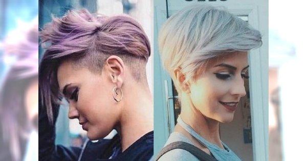 Krótkie fryzury damskie w odważnym wydaniu - top 20-stka
