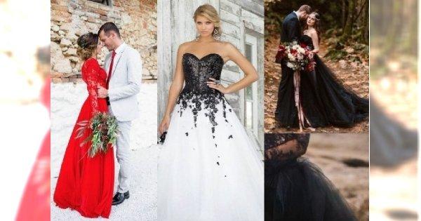 Suknia ślubna Inna Niż Biała Zobacz Najpiękniejsze Propozycje