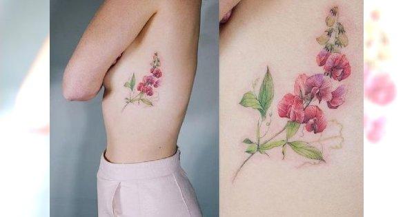 Tatuaż na żebrach - ultrakobiece wzory, które idealnie sprawdzą się w tym miejscu