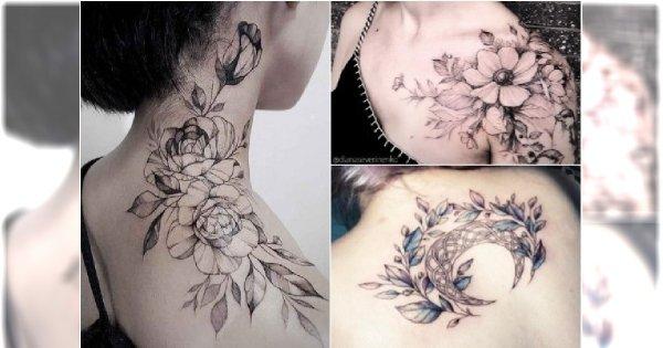 Galeria Kobiecego Tatuażu 2018 Wzory Inspirowane Naturą