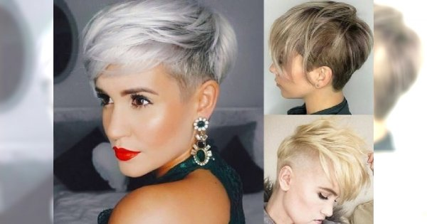 Nowoczesne Fryzury Dla Krótkich Włosów Galeria