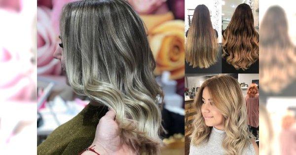 Flamboyage Najgorętszy Trend W Koloryzacji Włosów 2018