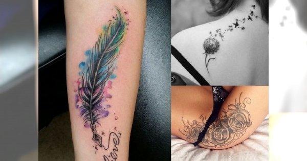 Kobieca galeria tatuażu: 20 supermodnych motywów