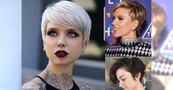 Krótkie fryzury damskie 2018 - najświeższe trendy, które uwodzą