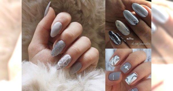 Szary manicure w najmodniejszych odsłonach - można się w nim zakochać!