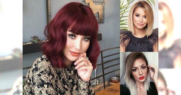 Modne cięcia dla włosów średniej długości - hot trendy 2018