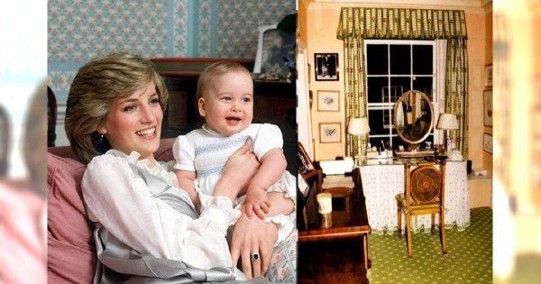 Tak mieszkała Diana Spencer. Zobacz prywatny apartament księżnej w pałacu Kensington