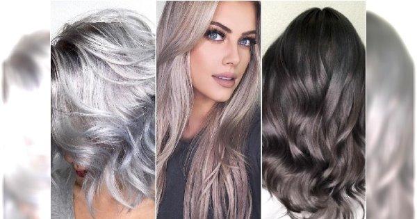 Modne kolory włosów: błękitna stal, grafit, metaliczne blondy. 25 gorących propozycji na nowy sezon!