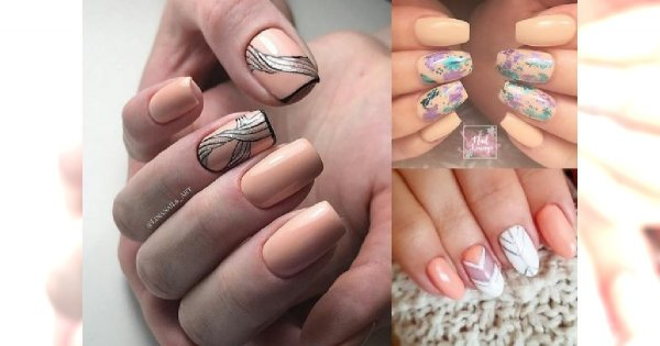Peach manicure - soczyste, brzoskwiniowe odcienie to hit nadchodzącej wiosny!