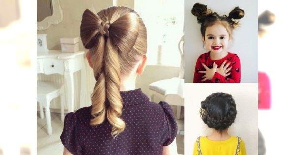 Śliczne uczesania dla dziewczynek - 20 fryzurek, które skradną Wasze serca