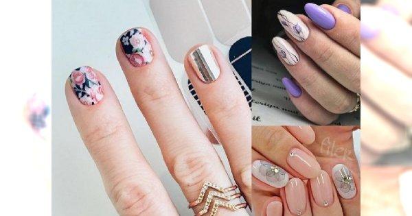 Wiosenne inspiracje na kwiecisty manicure - top 20, która robi wrażenie