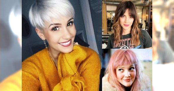 15 pomysłów na śliczne fryzury z grzywką dla włosów różnej długości