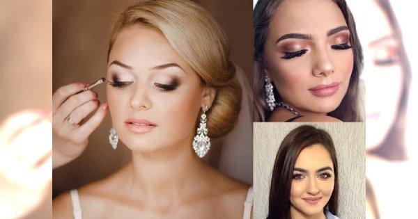 Makijaż ślubny 2018 - eleganckie i stylowe propozycje dla panny młodej