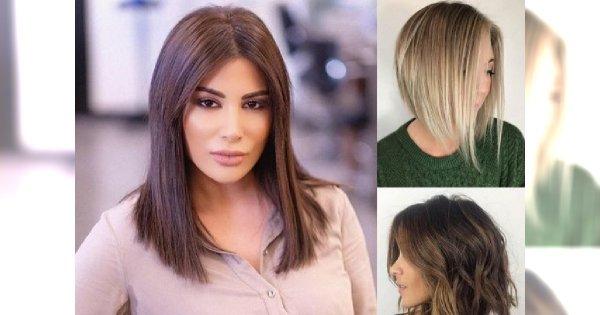 Hot cięcia dla włosów średniej długości - śliczne, jak nigdy wcześniej
