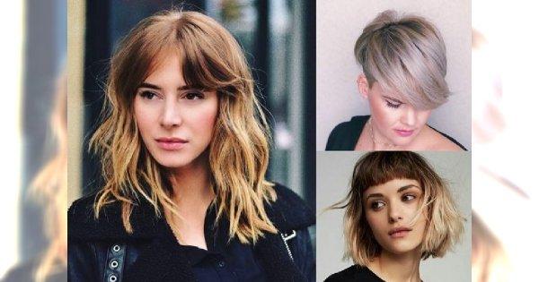 Komfortowe i modne fryzury z grzywką - przeglądamy nowoczesne cięcia