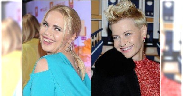 Dwie blondynki pokazały swoje metamorfozy! KOŻUCHOWSKA i STUŻYŃSKA w ciemnych włosach. Która lepiej?