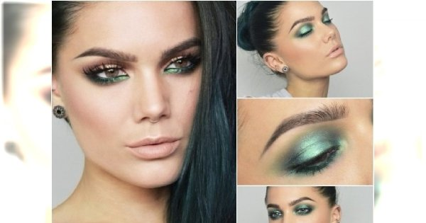 Pomysł Na Wiosenny Look Zielony Makijaż Oczu Jak Go Zrobić By