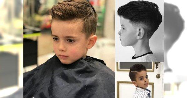 Nowoczesne Fryzury Dla Małych Chłopców Genialne