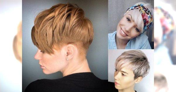 Krótkie fryzury na wiosnę - z grzywką, asymetryczne, undercut, bob