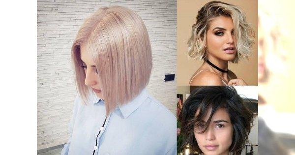 Włosy Do Ramion I W Pół Szyi Galeria Kobiecych Trendów Na