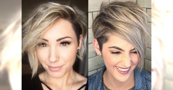 Krótkie fryzury z grzywką na bok – modne propozycje dla wymagających kobiet!