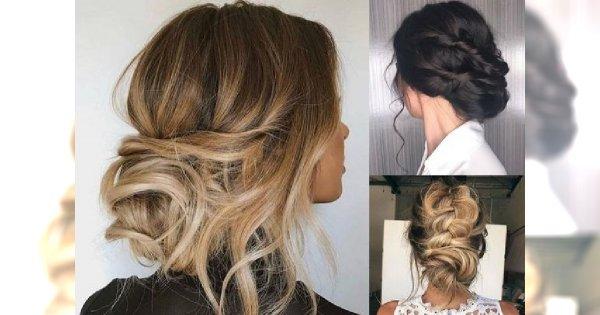 Fryzury na wesele dla gościa - śliczne uczesania z długich włosów