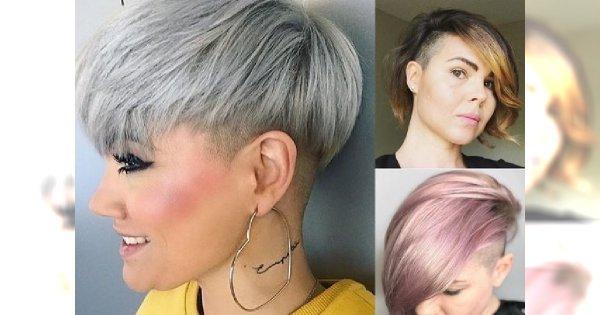 Fryzury asymetryczne i undercut dla włosów krótkich - oryginalne i z pomysłem