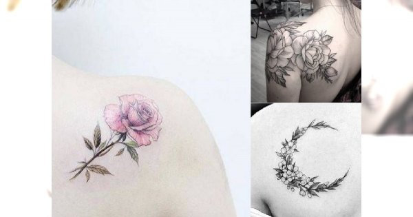Tatuaż na łopatce – 15 najpiękniejszych wzorów dla kobiet