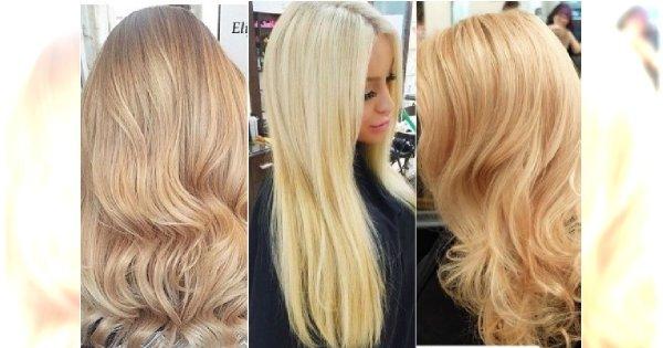 Modne kremowe blondy! Wypróbuj odcienie wanilii, honey butter, nude blonde