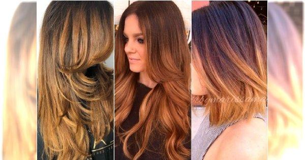 Karmelowa koloryzacja dla brunetek. Zamiast blondu wypróbujcie ciepły brązowy odcień!