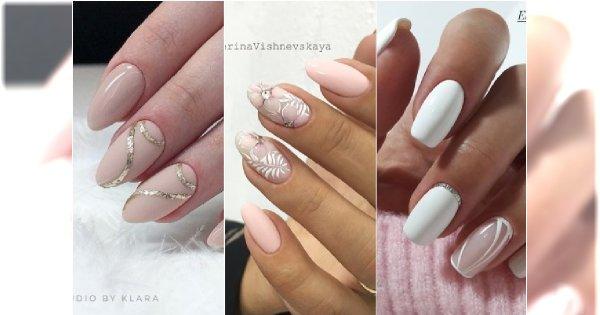 Modny manicure ślubny - nowe, jeszcze piękniejsze wzory dla panny młodej