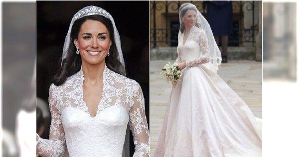 Pamiętacie suknię ślubną księżnej Kate? Teraz podobną można kupić w H&M. I to za jaką cenę!