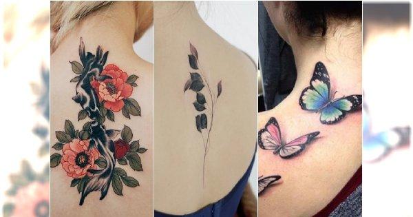 Tatuaże na plecach - 25 najpiękniejszych wzorów dla kobiet