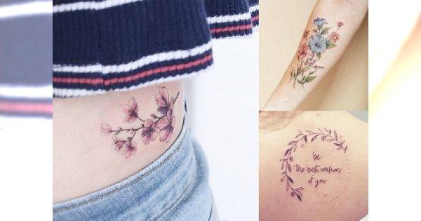 Ekstra kobiece tatuaże - 20 supermodnych, unikalnych wzorów