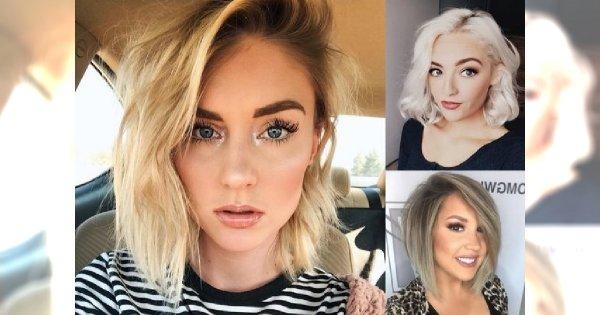 Modne fryzury półdługie - pomysłowe cięcia dla blondynek!