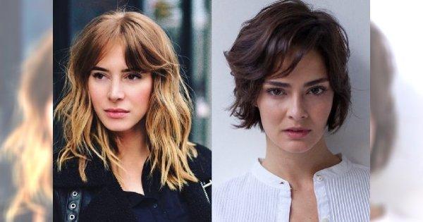 Cięcia z grzywką dla różnej długości włosów - te fryzury mają moc!