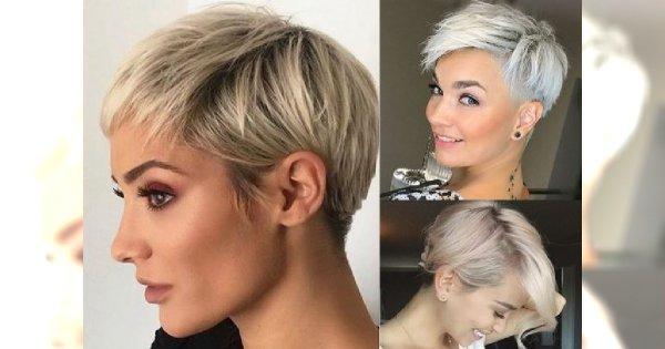 Krótkie Blond Fryzury Na Lato 25 Zjawiskowych Cięć