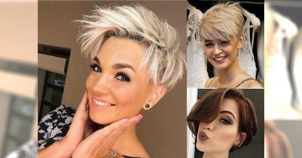18 modnych fryzur dla krótkich włosów – cięcia z grzywką, pixie i wiele innych