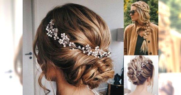 Kobiece fryzury z długich włosów - na randkę, wesele i inne okazje