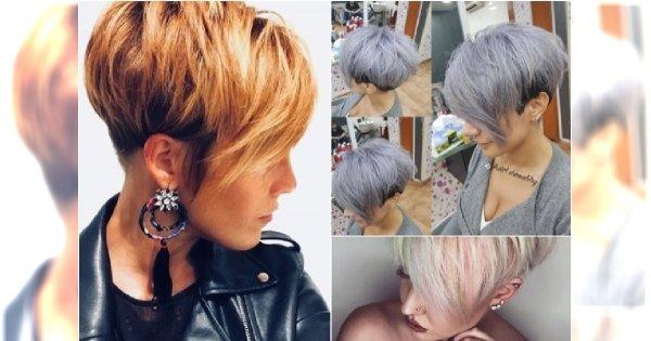 Krótkie fryzury z grzywką, asymetryczne. Te cięcia są hitem sezonu!