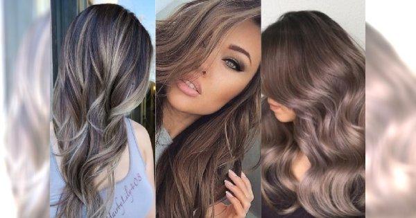 Popielate kolory włosów - chłodne brązy i blondy. Najpiękniejsza koloryzacja roku!