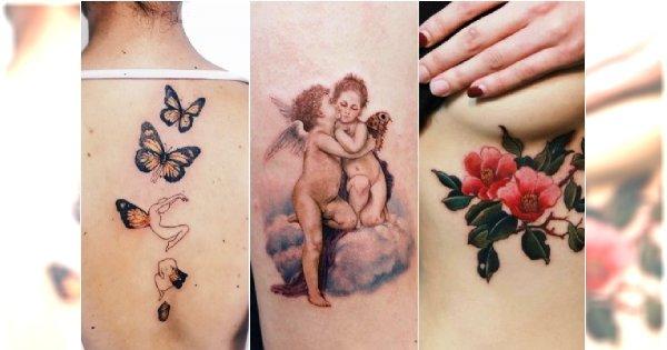 Najpiękniejsze Tatuaże Dla Kobiet 30 Wzorów Które Chwytają