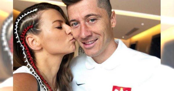 """Lewandowska całuje męża, ale Internauci zwracają uwagę na coś innego. """"Trenerka, a tłuszczyk się wylewa"""""""