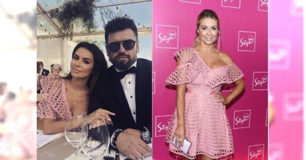 Natalia Siwiec w sukience za 1500 zł na weselu. Taką samą miała wcześniej Rozenek. Która lepiej?