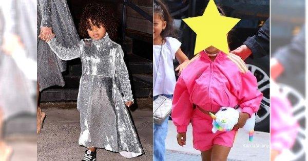 Kim Kardashian WYPROSTOWAŁA WŁOSY 5-letniej córce, North! Fani oburzeni: Jest na to zdecydowanie za młoda! Niszczysz jej włosy!