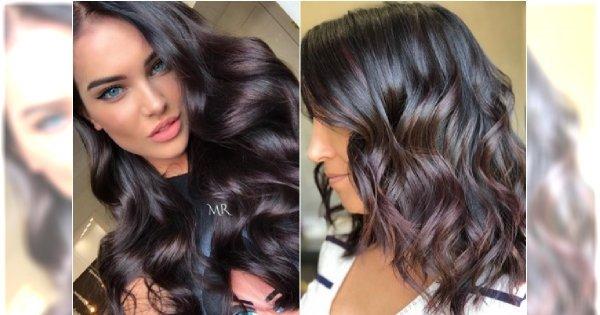Sangria - nowy kolor włosów dla brunetek. Pokochacie ten niesamowity miks!