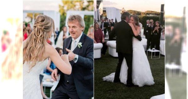 Zbigniew Boniek wydał córkę za mąż! Bajeczna suknia i PIĘKNY TANIEC panny młodej z ojcem (ZDJĘCIA)
